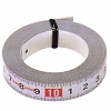 measuring tape with adhesive