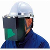 350-W Disaster Prevention Mask, Installation for Helmets