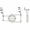 Cylinder Gauge parts, Washer
