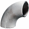 Butt welded joint (stainless steel) 90 degree long elbow