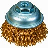 Pneumatic brass brush