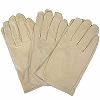 Pig Leather Work Gloves, Knitted
