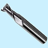 Natuck end mill 2 blades