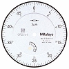 Standard type dial gauge (eye scale 0.005 mm)