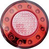JTL-1102 LED TAIL LAMP RED/AMBER 12/24V CENTER LENS CUT TYPE
