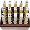Oil resistance endless stamp digit set