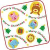 Christmas Towel Handkerchief (Animals)