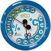 Thermo Hygrometer F-2S Environment Control Round type 6.5cm Aqua Blue