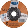 Offset grinding wheel for aluminum
