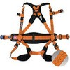 Full harness safety belt saturation body with belt