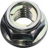 U Nut Flange, Iron Trivalent White, Packed