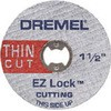 EZ-Lock fiberglass reinforced cut-off wheel