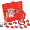 Lockout kit for electrical work