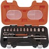 Inch socket set 1/4 plug angle 6.35mm