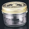Le Parfait glass double cap jar