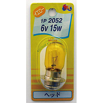 2 Wheeled Vehicle Head Bulb T19 6V, Single Bulb