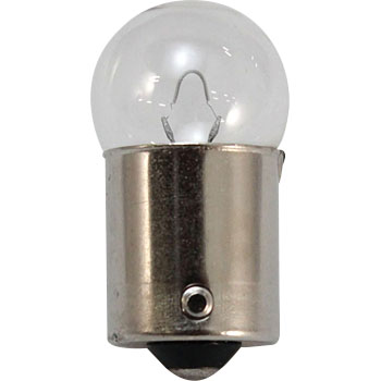 2 Wheeled Vehicle Bayonet Cap Bulb G18 12V, Single Bulb