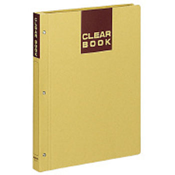 Clear book (craft type/fixed type)