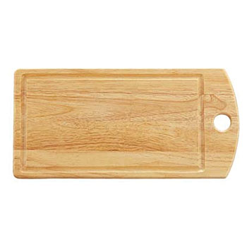 Wooden cutting board angle