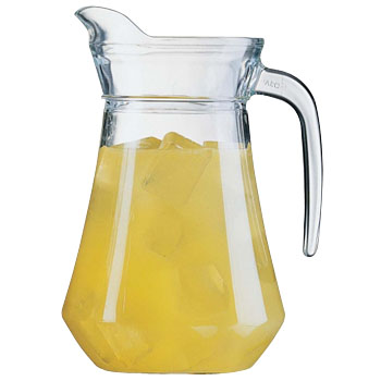 Walking pitcher (with a lid)