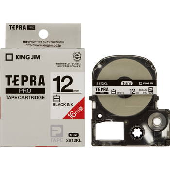 Label Cartridge, TEPRA PRO Tape Long Size
