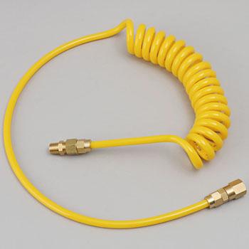 Spiral Air Hose Yellow Line Series
