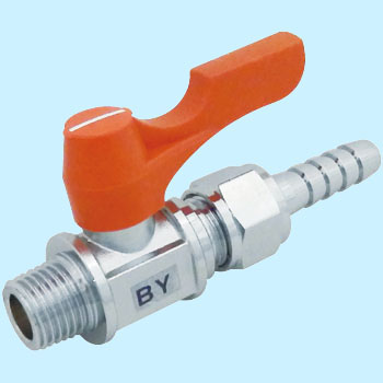 "Ball Valve, ""Ace Ball"", Straight Type Hose Joint Type"