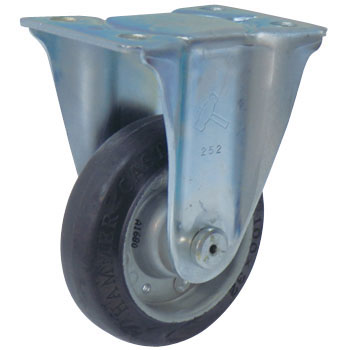400SR Rigid Caster, Griddle Wheel Rubber Winding Wheel,