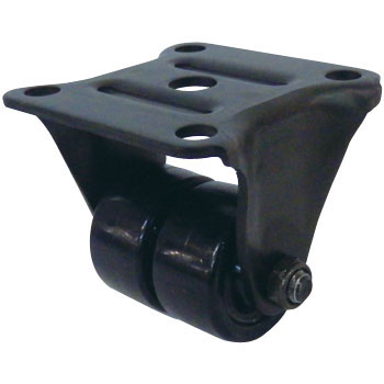 550R Rigid Caster, Nylon, for Low-Floor Middle Loads