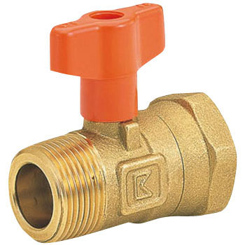 10K Brass Ball Valve, Taper Male Thread x Taper Female Thread