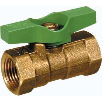 600 Type Made From Brass Ball Valve, Reduced Bore And T Form HandleTkt Series