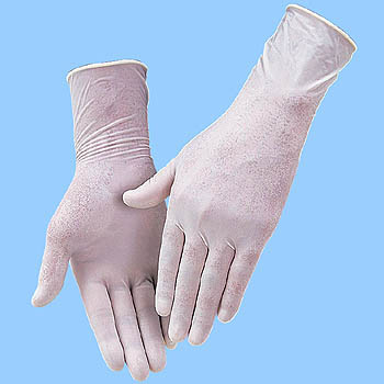 Singer Examination Gloves with Powder