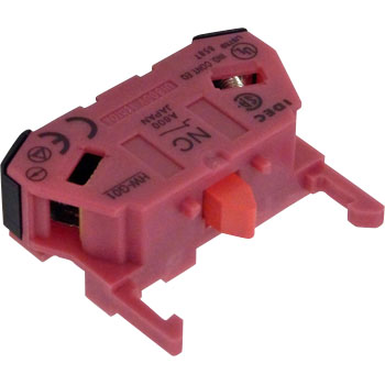 HW Series Control Unit Contact Block