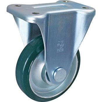 K Type Rigid Caster, Urethane Wheel) Uw