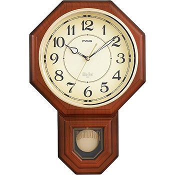 Wood pendulum clock Hiroshinakan (Youmeikan)