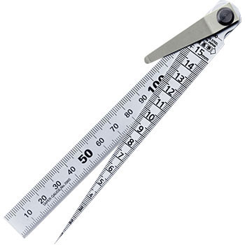 Taper Gauge, with Straight Ruler