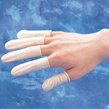 Antistatic Latex Finger Cots