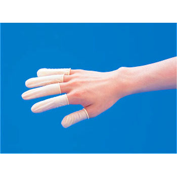 Latex anti-static finger sack LL