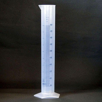 Measuring Cylinder, With A Blue Scale