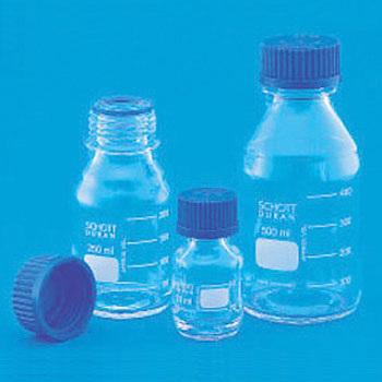 Screw Cap Bottle, Blue Cap