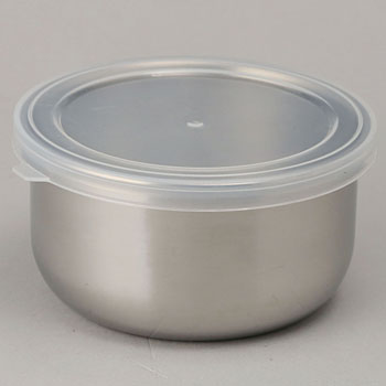 Round sealed container