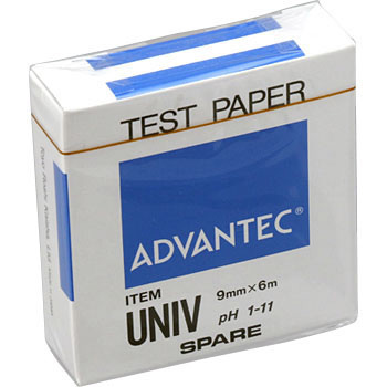 pH Test Strip, Roll Type, Univ Spare