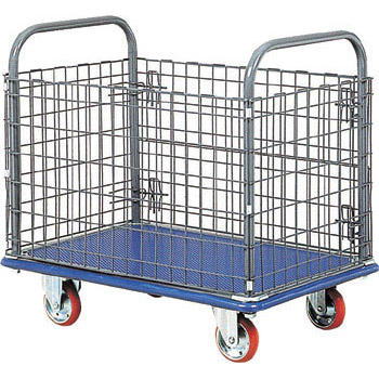 Wire mesh cart