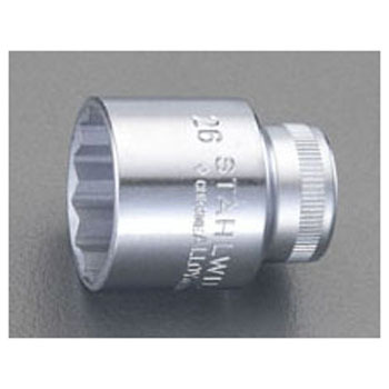 1/2 sq x 24 mm socket