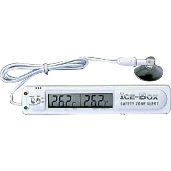 Refrigerated compartment thermometer