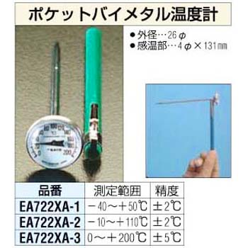 Pocket Bimetal Thermometer
