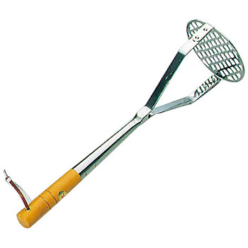 Squirrel wooden handle commercial potato masher