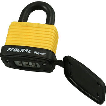 Combination Padlock for Outdoor