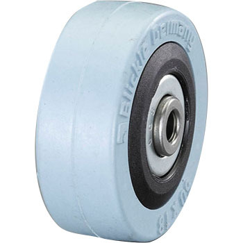 50x 18mm solid rubber wheels