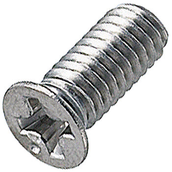 Countersunk Head Sash Machine Screw, Stainless Steel